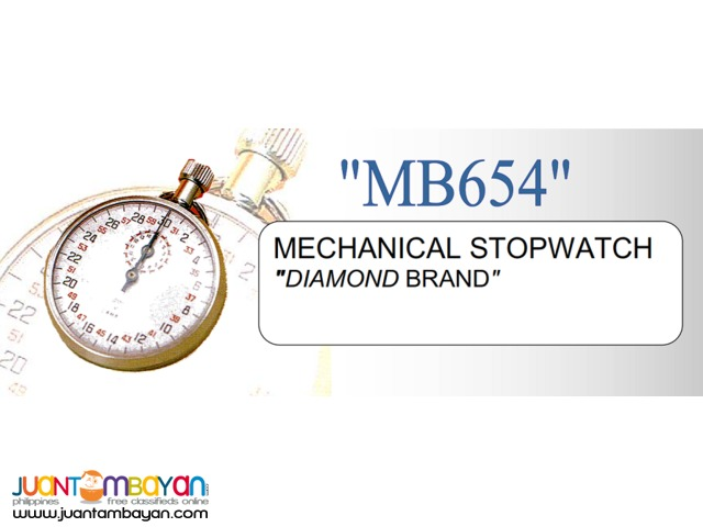 Diamond MB654 Mechanical Stopwatch