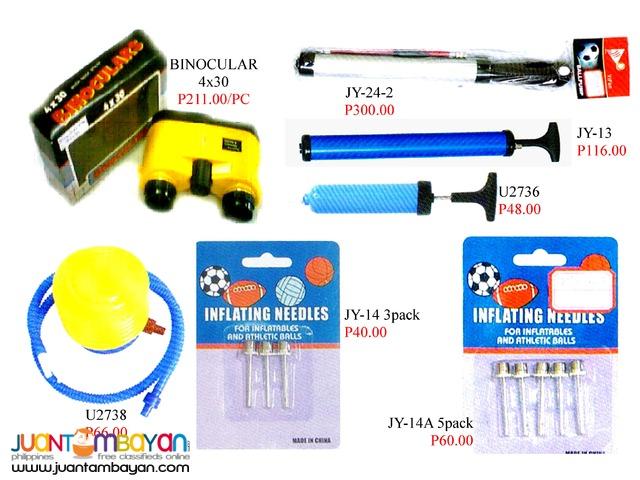 Binocular Air Pump Inflation Needle Foot Pump
