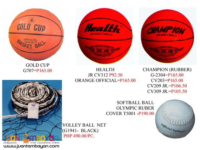 Basketball Rings n Nets n Balls Baseball ball Softball ball