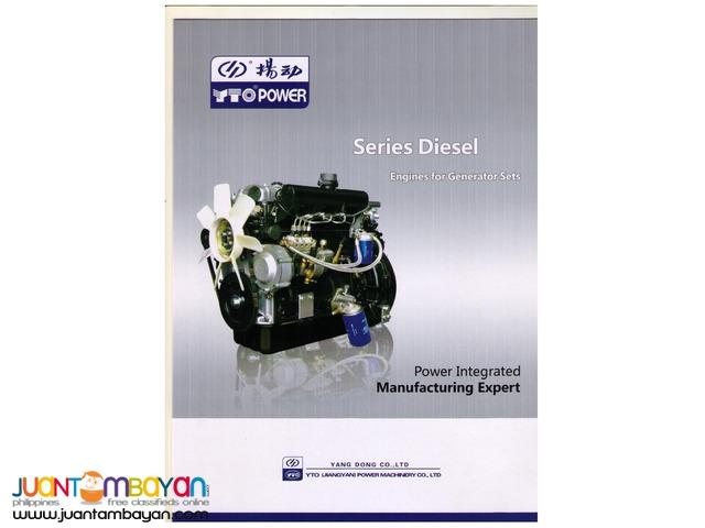 YANGDONG DIESEL ENGINES FOR GENERATOR