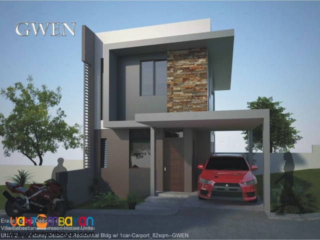 4br gwen model single house villa sebastiana tawason mandaue