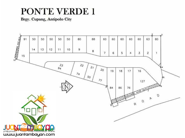 Ponte Verde House in Lot for Sale in MArikina Heights