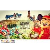 4D3N Hongkong with Ocean Park + Disneyland Tour Package with Airfare