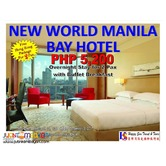 Overnight Stay at New World Manila Bay Hotel