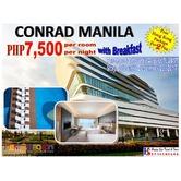 Conrad Manila Hotel Promo with Free Hong Kong Package