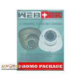 CCTV HD camera promo package 1