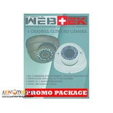 CCTV HD camera promo package 2