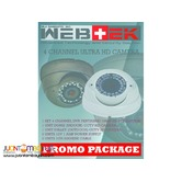 CCTV HD camera promo package 3