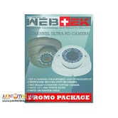 CCTV HD camera promo package 4