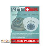 CCTV HD camera promo package 5