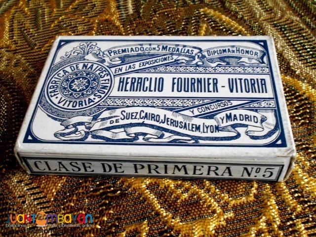 Rare Fournier Spanish Playing Cards
