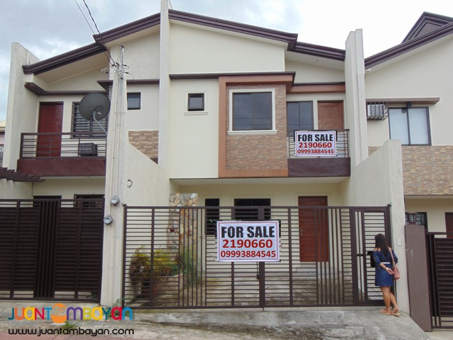 NO DOWNPAYMENT RFO House n Lot Sale Rancho Estate Marikina