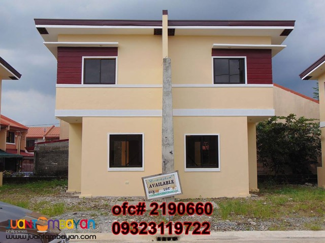 Birmingham Alberto Pagibig House n Lot for Sale 7K monthly