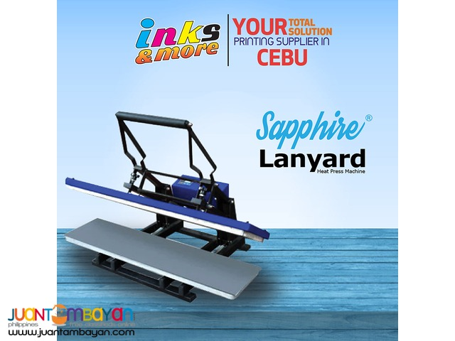 Personalized Printing Business - Sapphire Lanyard Heatpress