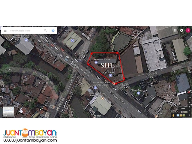 commercial lot for lease in New Manila Quezon City direct leasee only