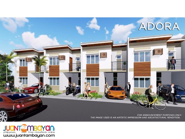 HOUSE AND LOT Modena Lilo an Cebu village with amenities
