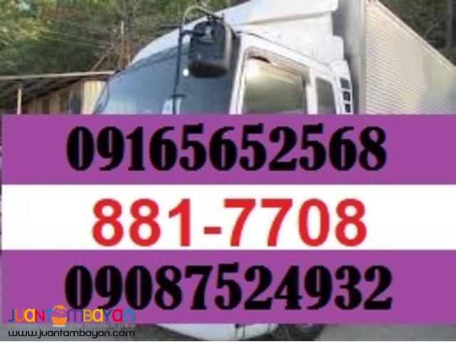 10 wheeler wing van  boom truck for rent