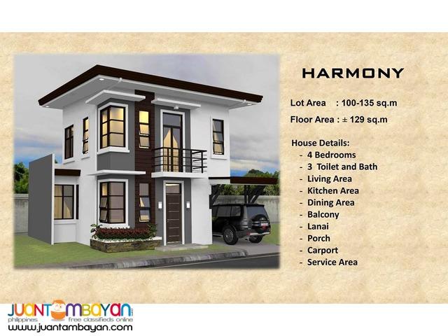 4 BR - Ricksville Heights Minglanilla, Cebu overlooking house and lot