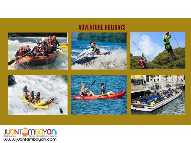 Adventure Holidays, book us now!
