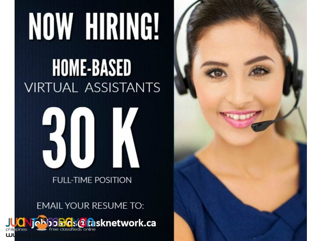 Full Time Home-Based Virtual Assistants