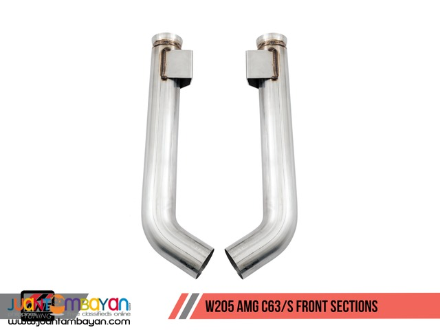 AWE Tuning SwitchPath Exhaust System-for Mercedes-Benz W205 AMG C63/S