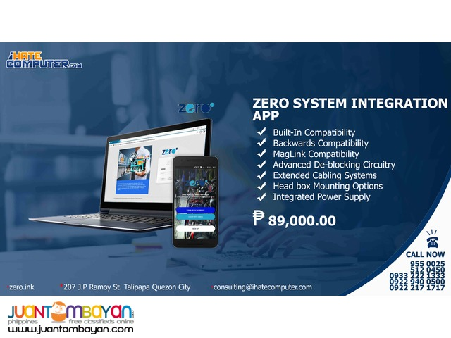 ZERO System Mobile App