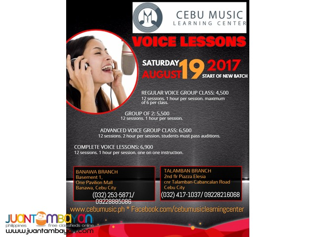 Take Complete Voice Lessons!
