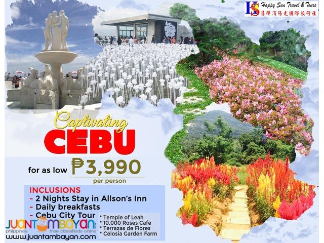3D2N Cebu Package