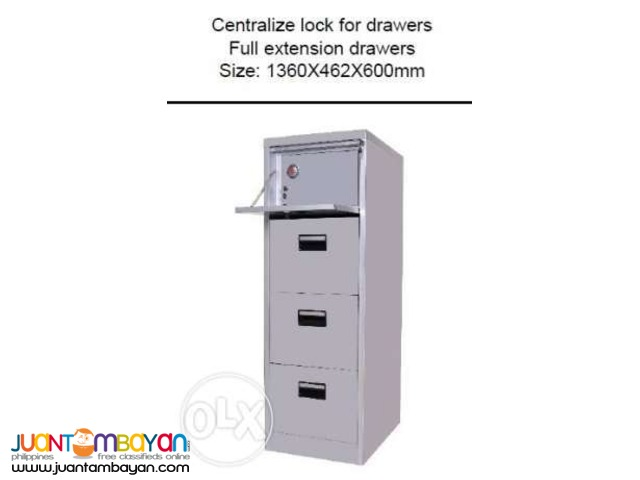 Filling cabinet with Vault / Drawer / Cabinet