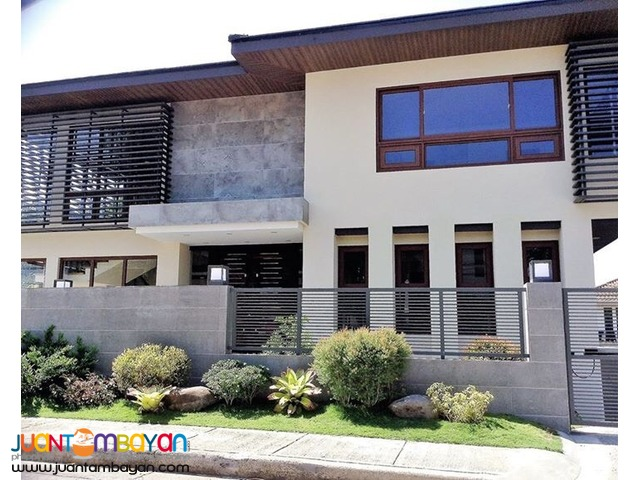 4 Br Ayala Alabang Brand New House For Sale Php 120M