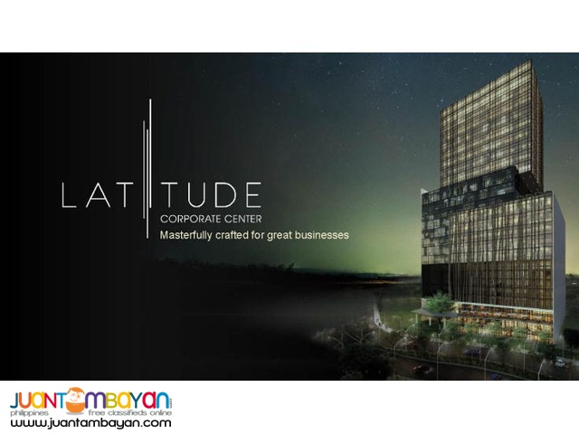 Latitude Corporate Center Cebu Business Park office space FOR SALE