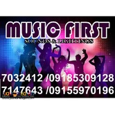 MUSIC FIRST PROFESSIONAL SOUNDS LIGHTS RENTAL@7032412,09155970196