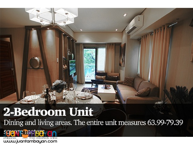 2 bedroom unit taft east gate condominium cebu business park