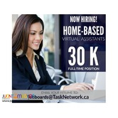 Urgent Hiring! Full Time Home-Based Virtual Assistants