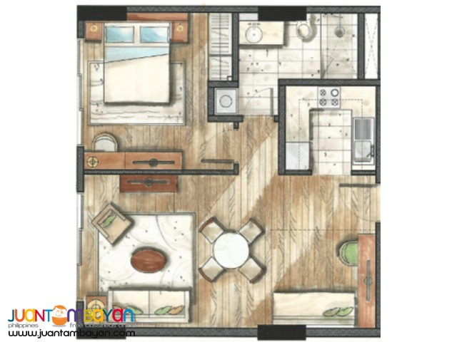 1 BEDROOM UNIT 32 SANSON BY ROCKWELL Cebu City condo
