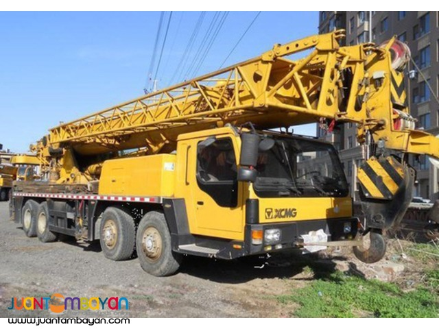 QY50B.5 TRUCK MOUNTED CRANE XCMG (50TONS)