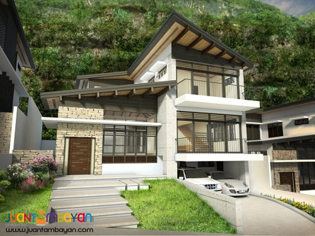 5 BR - overlooking house and lot the northridge at monterazzas de cebu