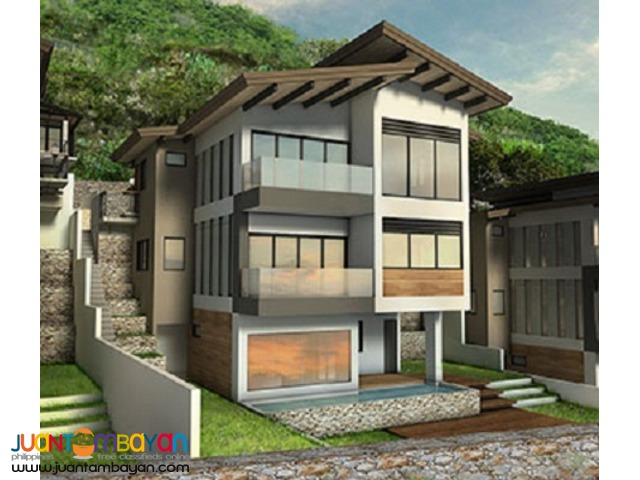 5br overlooking house in guadalupe monterrazas de cebu model B