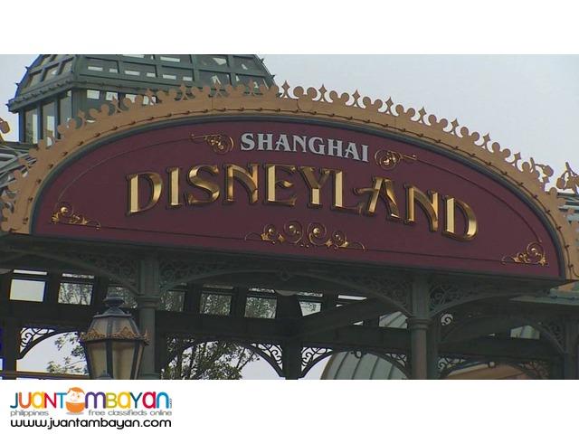 4d3n Full Board Shanghai Disneyland Tour Package + Airfare