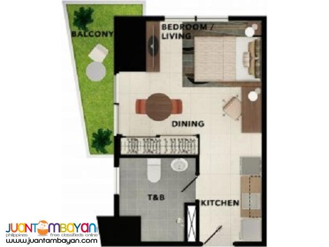 30 m² - STUDIO UNIT TAFT EAST GATE CEBU