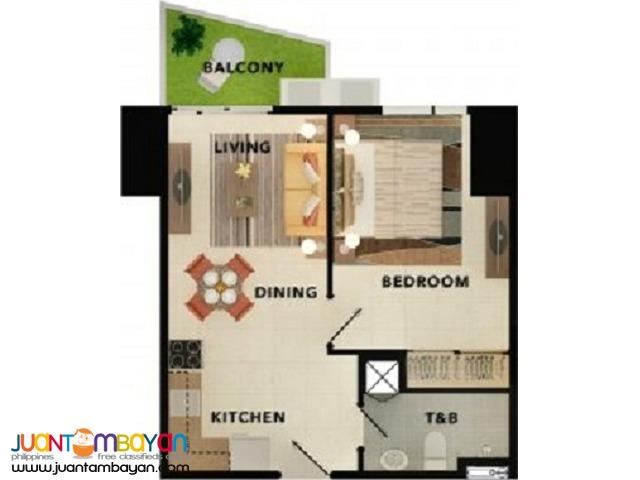 43 m² - 1bedroom TAFT EAST GATE CEBU