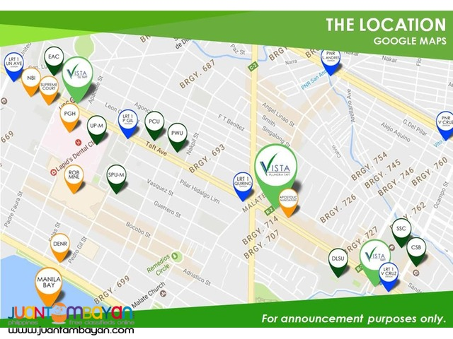CONDO DORMITEL INVESTMENT ALONG TAFT AVE, QUIRINO