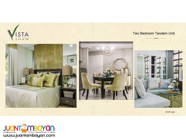 1BR 32 SQM VISTA SHAW FRONT S&R MANDALUYONG CITY
