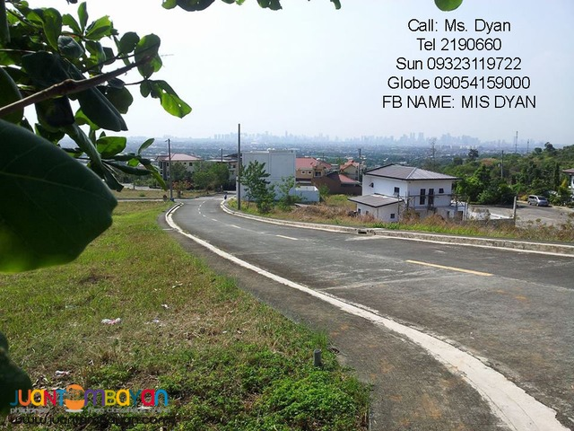 Overlooking Lot for Sale Monteverde Royale Taytay nr Club ManilaEast