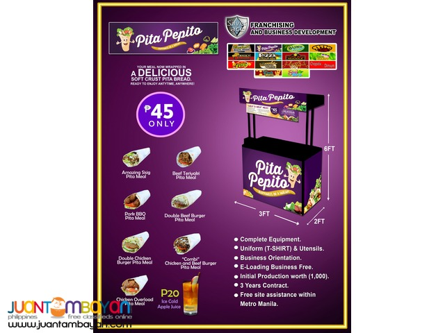 Pita Pepito , 2in1 and 3 in 1 combination package
