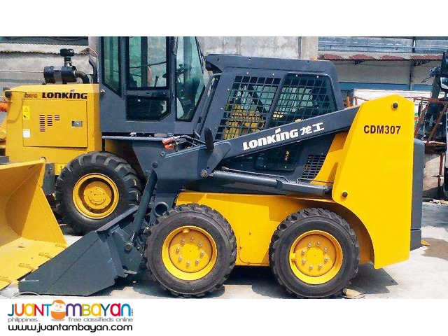 CDM307 Skid Loader (Kubota Engine: