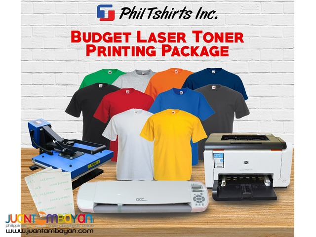 T Shirt Printing Business - Budget Laser Toner Printing Package