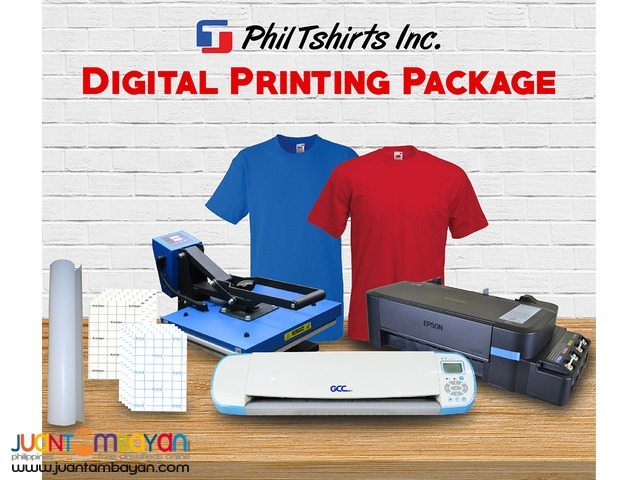 T Shirt Printing Business - Digital Printing Package