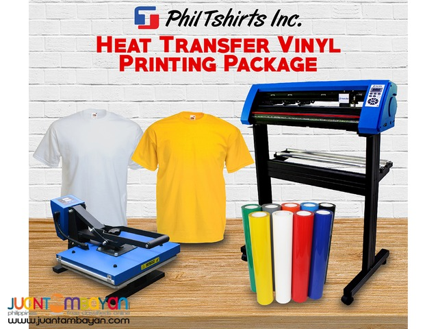 T Shirt Printing Business - Heat Transfer Vinyl Printing Package