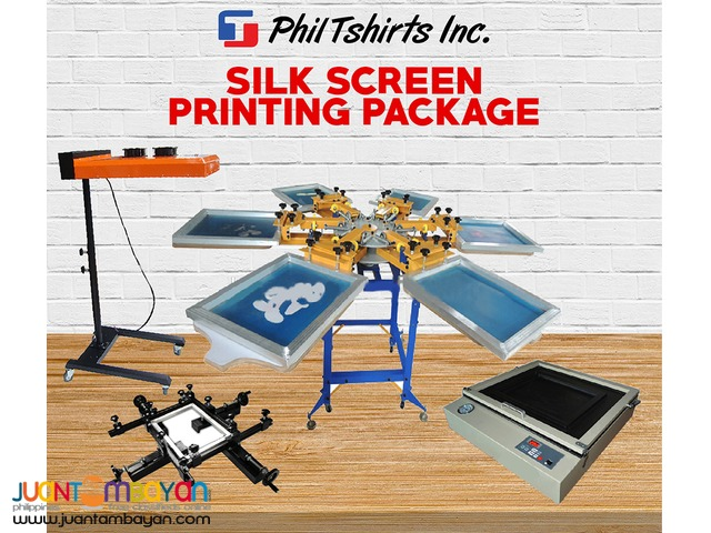 T Shirt Printing Business - SILK SCREEN PRINTING PACKAGE